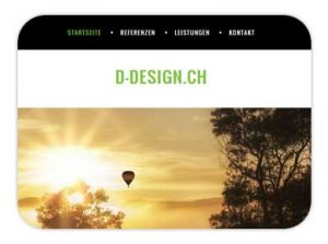 Lütisburg Toggenburg D-Design Webdesign
